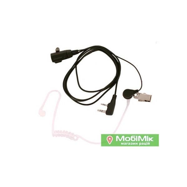 Гарнитура EP-003 со звуководом для рации Baofeng, Kenwood | mobimik.com.ua