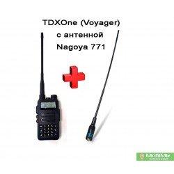 Рація TDX UV-Q7s водозахищена 5 Ватт IP66 + посилена антена