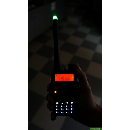 Антенна с LED светодиодом для раций Baofeng  http://mobimik.com.ua