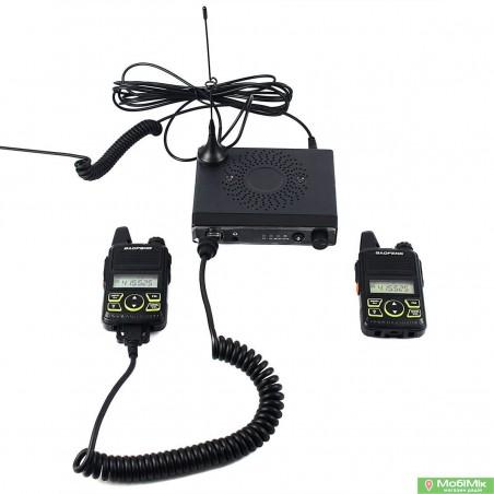 Автокомплект 2 рации плюс базовая станция Baofeng UHF 400-420MHz/450-470MHz