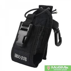 Чохол сумка MSC-20B для рацій Baofeng Puxing Kenwood Motorola Midland Uniden ICOM Yaesu