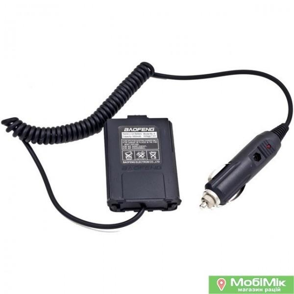 Адаптер для авто (Eliminator) для рации Baofeng UV 5R https://mobimik.com.ua