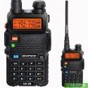Baofeng UV-5R 5 Ватт рація з гарнитурою              VHF/UHF  136-174 МГц/400-520 МГц
