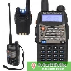 Радіостанція Baofeng UV-5RA | UV-5RB | UV-5 RE plus з гарнітурою