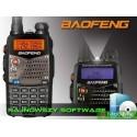 Радиостанция Baofeng UV-5RA+ | UV-5RB | UV-5 RE plus c гарнитурой