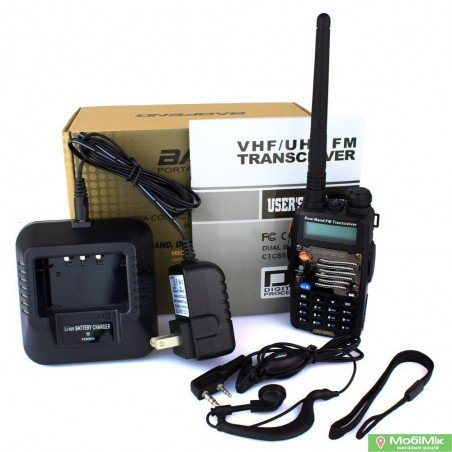 Baofeng UV-5RO / RB рация + гарнитура