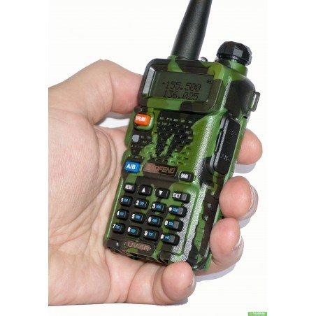 Рация Baofeng UV-5R / Pofung (camouflage) c гарнитурой