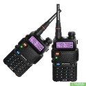 Review for Комплект 2 шт Рации Baofeng UV-5R 5 Ватт c гарнитурами uv5r