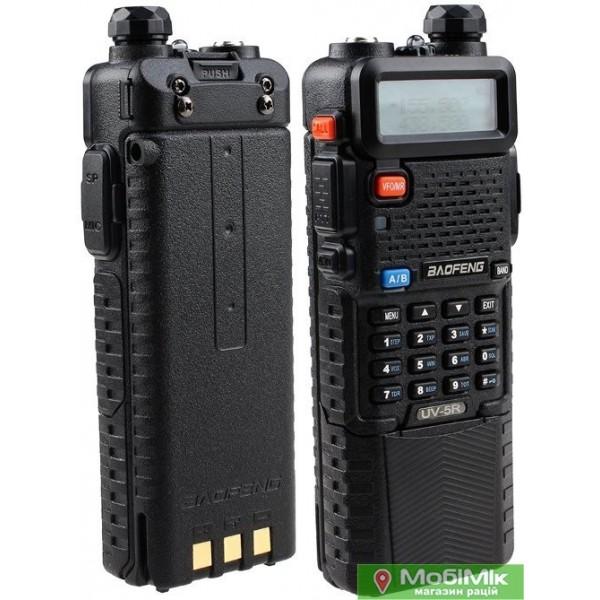 Baofeng UV-5RTP 8W рация с усиленным аккумулятором 3800 mAh и c гарнитурой (UV-5RHP) |  Магазин mobimik.com.ua