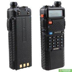Рация Baofeng UV-5R 5 Ватт с батареей 3800 мАч и c гарнитурой. VHF (136—174 МГц) и UHF (400-520 МГц) | Pofung