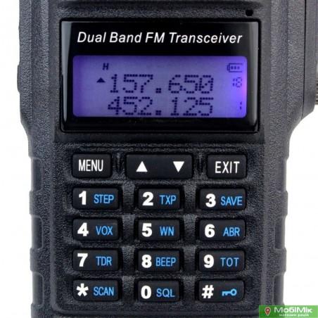 Рация Baofeng BF-A58 водонепроницаемая         5 Ватт c гарнитурой. VHF (136—174 МГц) и UHF (400-520 МГц)