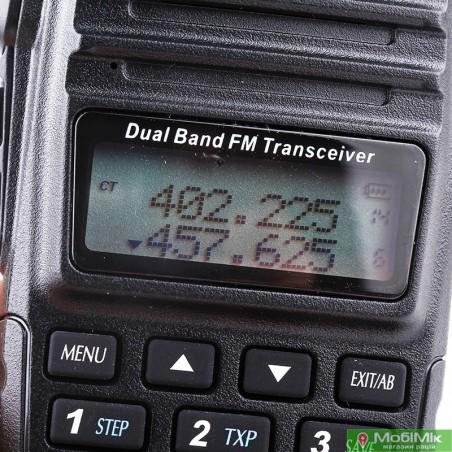 Рация Baofeng UV-82 c гарнитурой VHF/UHF Dual-Band 136-174/400-520MHz 2-PTT 5W Two Way Radio