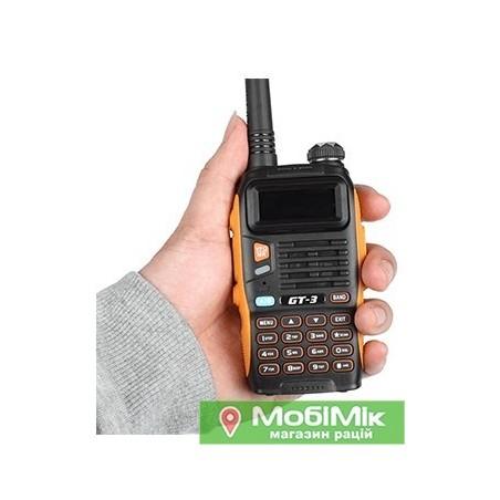 Рация Baofeng SainSonic GT-3 Mark II VHF/UHF 136-174 МГц/400-520 МГц