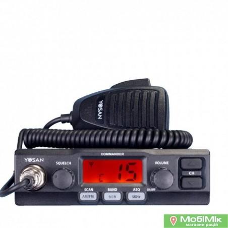 Yosan Commander радиостанция в авто 27 МГц