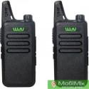 Комплект 2 Рации WLN KD-C1 частоты UHF http://mobimik.com.ua китайские рации мощные 5 8 Ватт