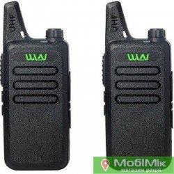 Комплект 2 Рации WLN KD-C1 частоты UHF https://mobimik.com.ua китайские рации мощные 5 8 Ватт
