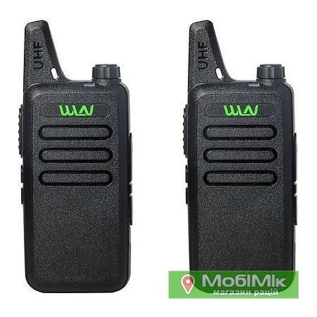 WLN KD-C1 рация 5 Вт частоты UHF 400-520 МГц