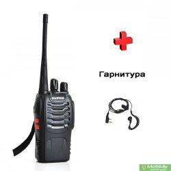 Рація Baofeng BF-888s з гарнітурою UHF Частота: 400 - 520 МГц