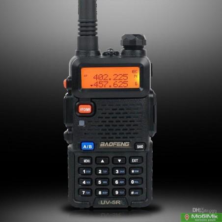 Рация Baofeng UV-5R 5 Ватт VHF (136—174 МГц) и UHF (400-520 МГц)