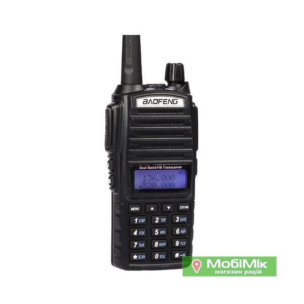 Рация Baofeng UV-82 Dual-Band             VHF/UHF 136-174/400-520MHz 2-PTT 5W Two Way Radio