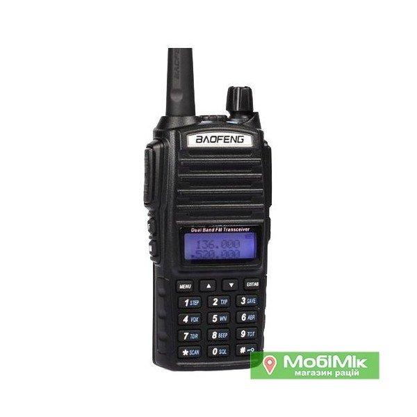 Рация Baofeng UV-82 Dual-Band VHF/UHF 136-174/400-520MHz 2-PTT 5W Two Way Radio