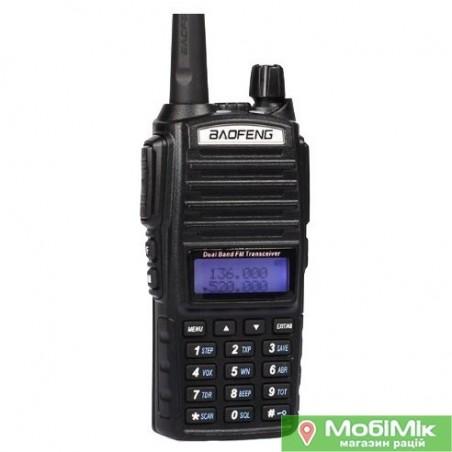 Рація Baofeng UV-82 Dual-Band 5 Ватт VHF/UHF 136-174/400-520MHz 2-PTT 5W Two Way Radio