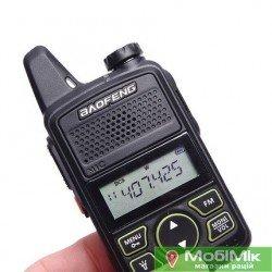 Рация Baofeng BF-T1 ультракомпактная Частоты: 400 - 470 МГц UHF