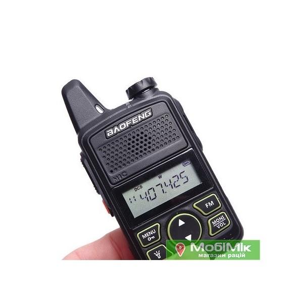 Рація Baofeng BF-T1 мініатюрна mobimik м Частоти: 400 - 470 МГц