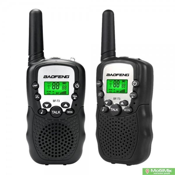Купить рацию Baofeng BF T3 UHF Частота: 400 - 520 МГц в Киеве