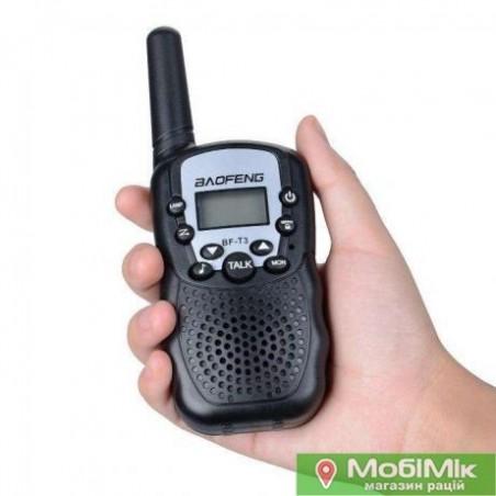 Комплект. купить 2 рации Baofeng BF T3 UHF Частота: 400 - 470 МГц