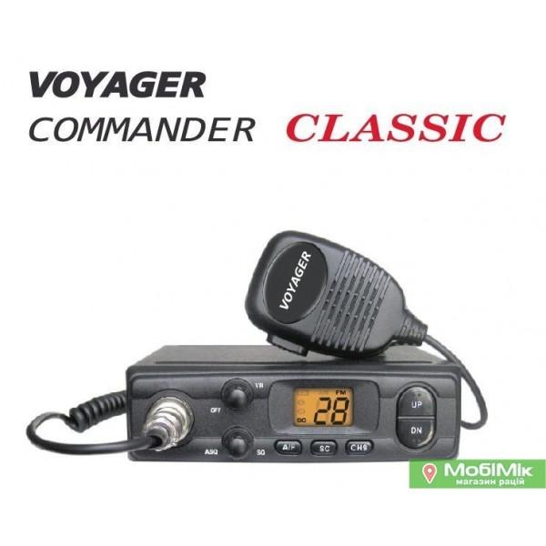 Voyager Commander Classic радиостанция в авто 27 МГц купить в киеве Днепре Одессе