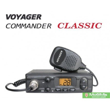 Voyager Commander Classic радиостанция в авто 27 МГц