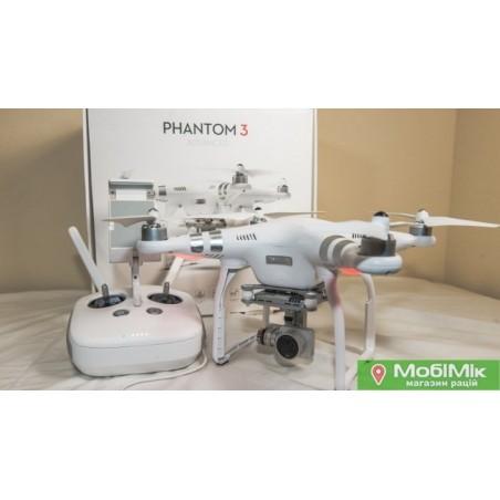 Квадрокоптер (дрон) DJI Phantom 3 advanced б/у