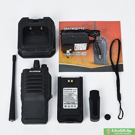 Рация Baofeng BF-9700 водозащищенная 5 Ватт c гарнитурой.UHF (400-520 МГц)