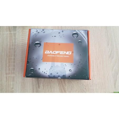 Рация Baofeng BF-9700 водозащищенная вода пыль водонепроницаемая пылезащищенная 5 Ватт c гарнитурой.UHF (400-520 МГц)