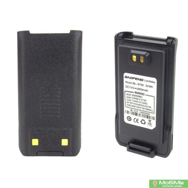 Акумулятор BL-9700 Baofeng 2800 mAh