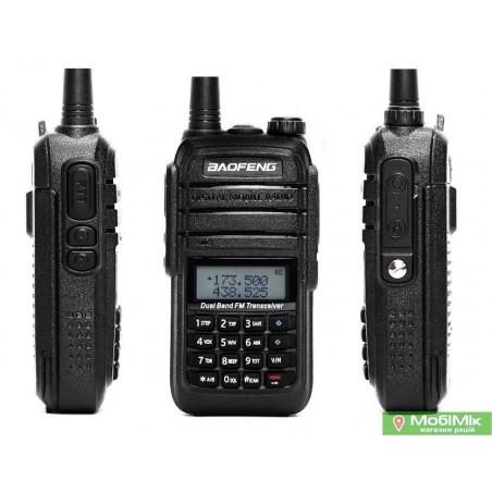 Baofeng UV-6RA рація з гарнітурою 5 Ватт VHF (136—174 МГц) та UHF (400-520 МГц)
