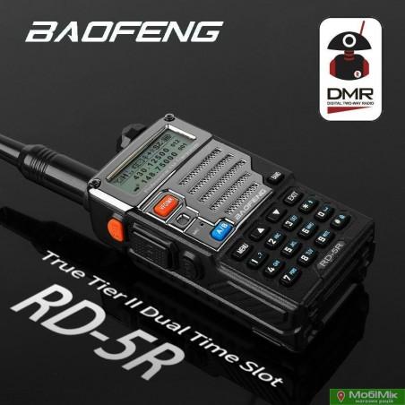 Цифровая рация Baofeng RD-5R стандарт 5 Ватт google.com VHF/UHF 136-174 МГц/400-520 МГц