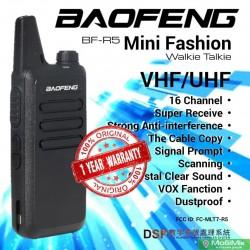 Рация Baofeng BF-R5 с гарнитурой                          частоты UHF 400-520 МГц