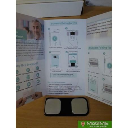 Купить в киеве дешево с сертификатом ЭКГ (кардиограф) SnapECG Recorder (E-H19)