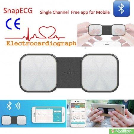 ЭКГ (кардиограф) SnapECG Recorder (E-H19) портативный