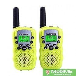 Комплект 2 рации Baofeng BF T3 цвет зеленый