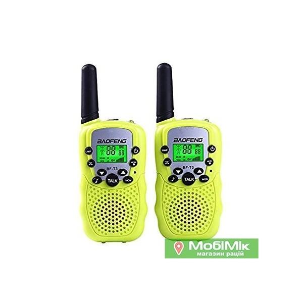 Рація Baofeng BF-Т3 колір зелений