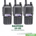 Review for Комплект 3 штуки Рации Baofeng UV 82 с наушниками | двухчастотные dualband