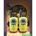 Купить Комплект 2 рации Baofeng BF T3 желтые