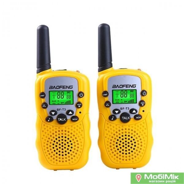 Рація Baofeng BF-Т3 колір жовтий