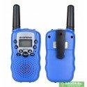 Купить Комплект 2 рации Baofeng BF T3 цвет синий