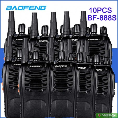 Комплект Рация Baofeng BF-888s 10 штук