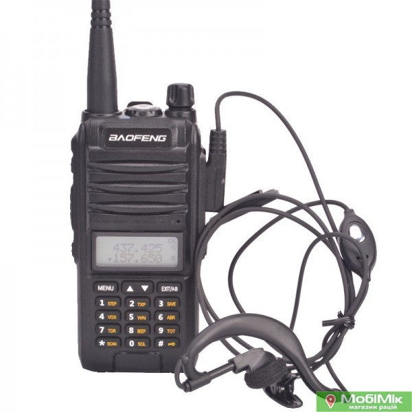 Рация Baofeng BF-A58s трехдиапазонная двухчастотная 5 ватт VHF UHF диапазоны