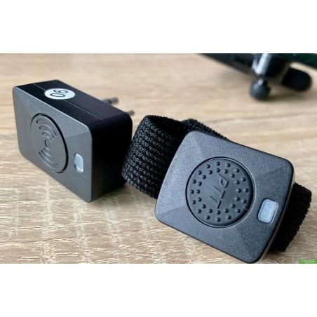 Bluetooth гарнитура наушники AD-01 для раций Baofeng Kenwood Wouxun Quasheng
